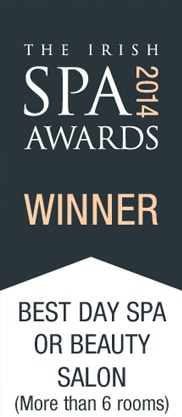 The Irish Spa Awards 2014 Winner for Best Day Spa or Beauty Salon