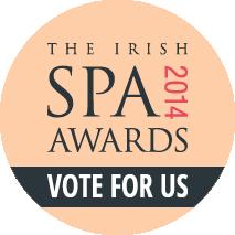 Irish Spa Awards Vote for us