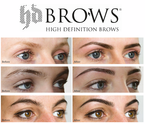 HD Brows Before and After Photos