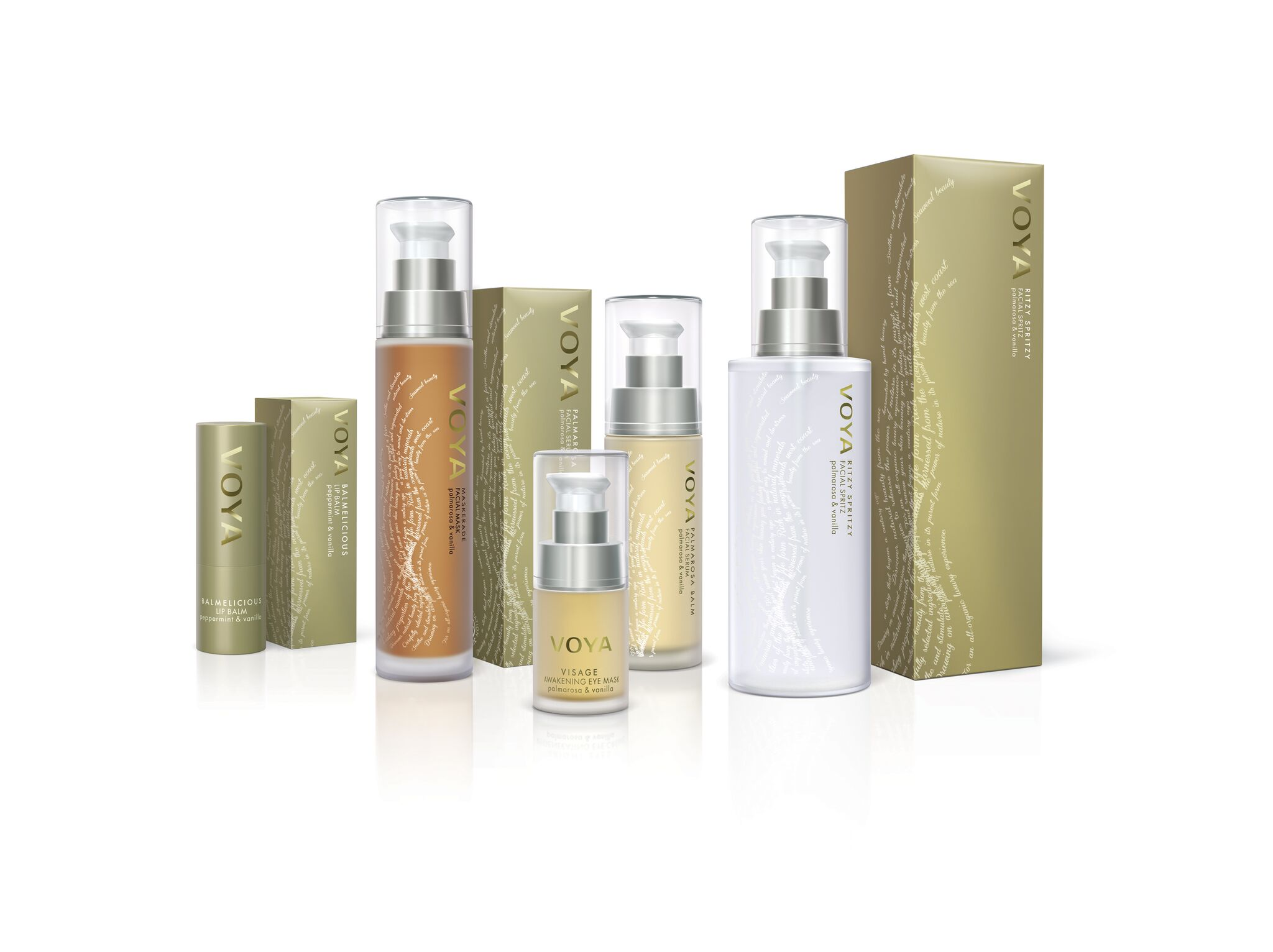 Voya facial products